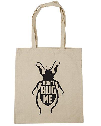 litres 10 x38cm Me 42cm Gym Tote Don't Natural HippoWarehouse Bug Shopping Beach Bag q4fTwSv