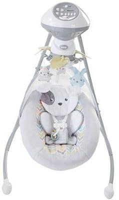 Fisher-Price Sweet Snugapuppy Dreams Cradle 'n Swing, White