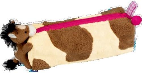 Horse Friends Estuche de Peluche para lápices, Variado, 23 x 7 x 7 cm, Modelo 25562: Amazon.es: Juguetes y juegos