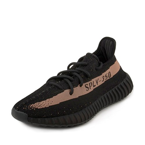 Adidas Mens Yeezy Boost 350 V2 Black/Copper Fabric Size 8