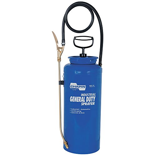 Chapin 1831 3-Gallon Industrial Open Head General Duty Sprayer For Fertilizer, Herbicides and Pesticides