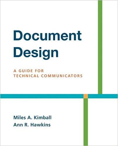 Amazon.Com: Document Design: A Guide For Technical Communicators