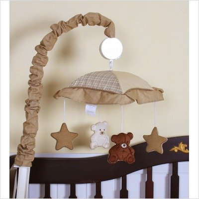 Price comparison product image GEENNY Musical Mobile, Teddy Bear