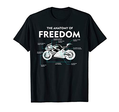 The Anatomy Of Freedom Shirt | Cute Supermotos T-shirt Gift (Supermoto Jacket)