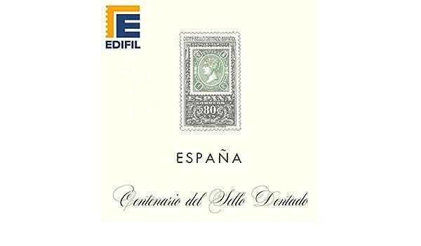 EDIFIL Juegos Hojas Álbum de Sellos España. España Centenario ...