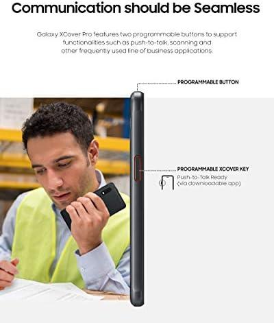 Samsung Galaxy Xcover PRO Rugged (IP Rated) Unlocked (Verizon & ATT&T) | Dual Sim | 64GB of Storage (2020 US Version & Warranty) - SM-G715UZKDXAA - Black