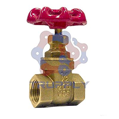 Gate Valve | Brass | NPT 1.25"