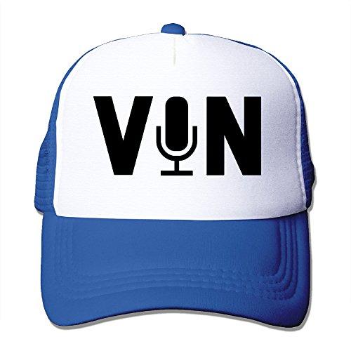 Original Vin Scully Microphone Baseball Hats
