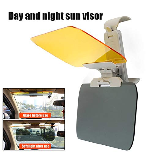 Lanbowo Car Visor Block Light Protection Day and Night Dual-use Sun Visor,Anti-high Beam Lenses Day and night anti-glare mirror