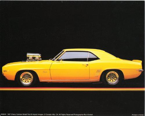1967 Chevy Camaro Poster Street Rod Vintage Car Art Print Poster (16x20) (Poster Camaro)