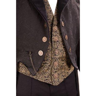 Steampunk Gentleman's Empire Opera Coat - Medium by Museum Replicas (Image #3)
