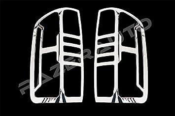 2014-2016 GMC Sierra 1500 Chrome Triple plated 3rd Brake Light Cover kit 16 15