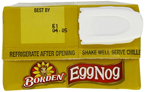 Borden Egg Nog - 32 Oz Box - Pack of 3 -