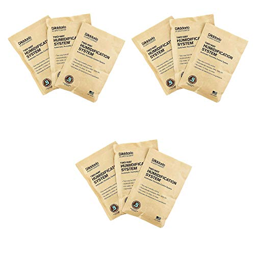Planet Waves Humidipak Standard Replacement 9-Pack Bundle