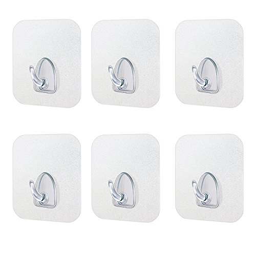 transparent-adhesive-seamless-hook-super-waterproof-heavy-duty-hooks-load-bearing-176lb-8kg-for-wall