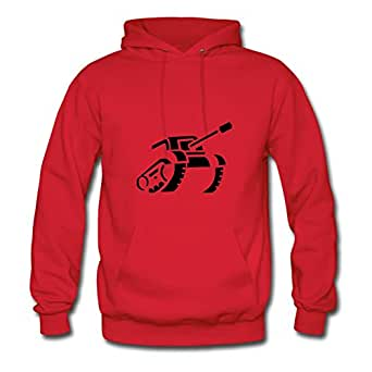Stylish Unofficial Customized Long-sleeve Tank Roll Women X-large Red Hoody