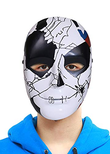 Billy Russo Mask Latex Punisher Season 2 Adult Halloween Cosplay Costume Accessory Prop ()