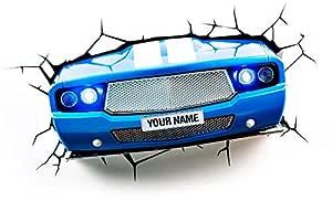 3D Light FX 3D Classic Car Light - Blue