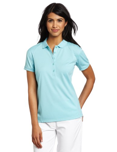 Columbia Women's Skiff Guide Polo, Small, Clear Blue ()