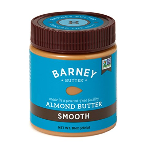 Barney Butter Almond Butter, Smooth, 10 Ounce (Pack of 3)