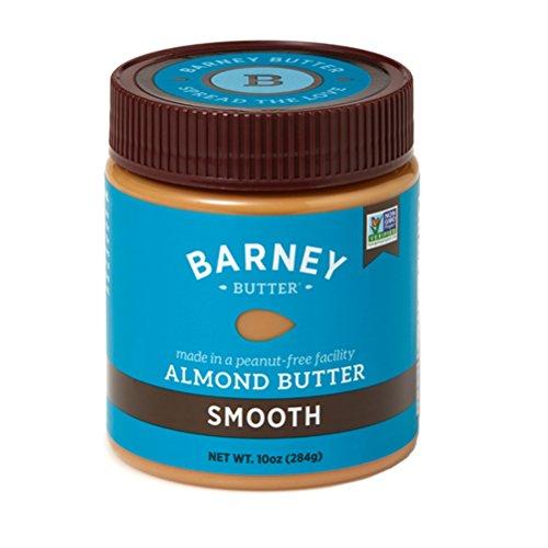 Barney Butter Smooth Almond Butter, 10-Ounce Jars (Pack of (Butter 10 Oz Jar)