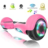 XPRIT Hoverboard w/Bluetooth Speaker (Pink)