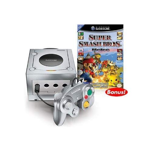 Platinum Nintendo Gamecube Super Smash Bros. Melee Bundle!