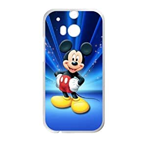 Unique Design Cases HTC One M8 Cell Phone Case Mickey Mouse Uhcpu Printed Cover Protector