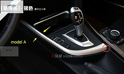Yimaautotrims For BMW 3 Series/GT F30 316i 320i 328i 2013-2017 Transmission Shift Gear Shift Panel Decoration Cover Trim