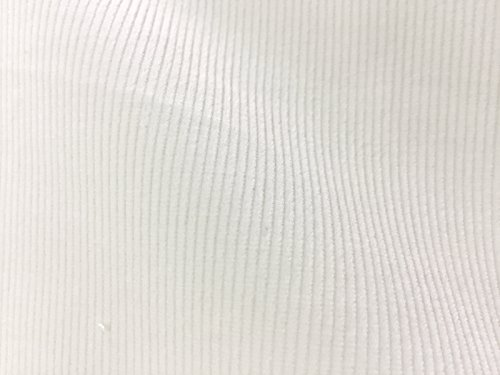 VF166-53 Miracle Classic - Winter White Plush Stretch Cotton Pinwale Corduroy - Stretch Pinwale Corduroy