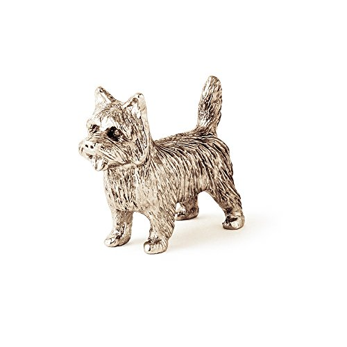 Cairn Terrier Made in UK Artistic Style Dog Figurine - Dog Cairn Terrier Ornament