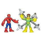 Playskool Heroes Marvel Super Hero Adventures Spider-Man and Doc Ock Figures