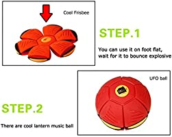 UFO Magic Ball Magic Flying Saucer balón perdido bola Frisbee Bola ...