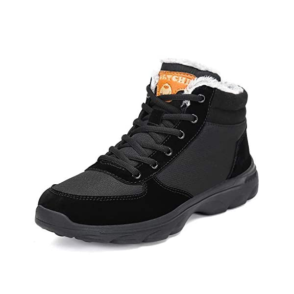 Mishansha-Mens-Womens-Winter-Snow-Hiking-Boots-Fur-Lined-Warm-Non-Slip-Casual-Walking-Outdoor-Ankle-Shoes