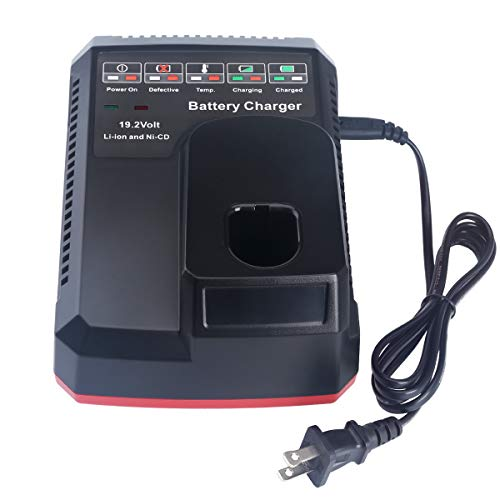 Biswaye Replacement Craftsman 19 2 Volt C3 Battery Charger 140152004 315 Ch2021 For Craftsman C3 19 2v Xcp Lithium Ion Ni Cad Battery 315 Pp2011 315 Pp2020 315 Pp2010 315 Ch2020