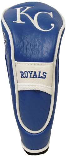 Team Golf MLB Kansas City Royals Hybrid Golf Club Headcover, Hook-and-Loop Closure, Velour lined for Extra Club Protection