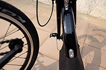 Aluminum Front Wheel Hook for Brompton Bicycle L Type With Mudguard