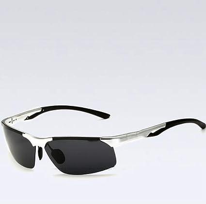 Defect Los Hombres al-magnesio Half Frame polarizante de Deporte al Aire Libre de Gafas