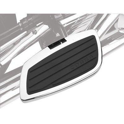 (Cobra Swept Passenger Floorboards for 2004-2007 Honda Aero 750 - Chrome)