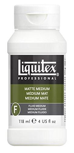 (Liquitex Professional Matte Fluid Medium, 4-oz (5104))