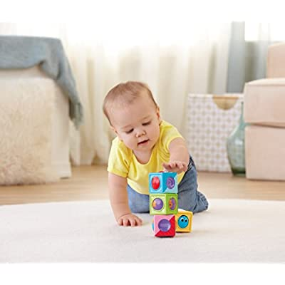 Fisher-Price Roller Blocks, Vehicles and Shapes: Toys & Games