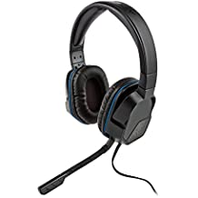 Headset Estéreo com Fio Afterglow Lvl 3 - Preto/Azul - PlayStation 4