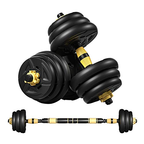 DOYCE Adjustable Weights Dumbbells Set, Free Weights Set with Connecting Rod for Men and Women Full Body Workout Gym…