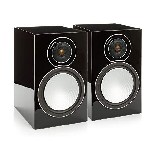 - Monitor Audio - Silver Series 2 - 2-way Compact Loudspeakers - Pair - Black Oak