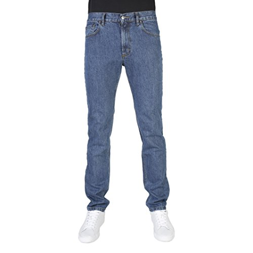 Carrera Jeans Pantalón Denim 15 Oz Con Zip Blu 700