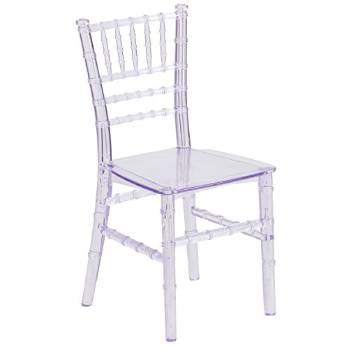 Flash Furniture Kids Crystal Transparent Chiavari Chair ()