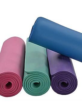 WXD NBR Mats Yoga 180 66 1 *10 *No Toxic Verde, azul oscuro ...