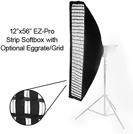 with Speedring Speed Ring Pro Studio Solutions EZ Pro Beauty Dish Softbox for Multiblitz Varilux Strobe Light 32x48 in 32x48 Soft Box