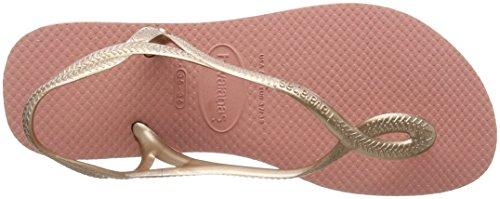 Havaianas Sandals Women Luna Multicolored (Light Rose 2014) kn3XMx7eAa