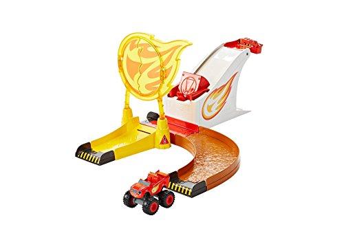 Fisher-Price Nickelodeon Blaze & the Monster Machines, Flaming Stunts Blaze (Blaze And The Monster Machines Race Track)